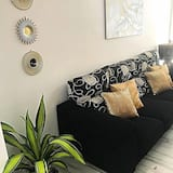 apartman, 3 hálószobával, terasz - Nappali rész