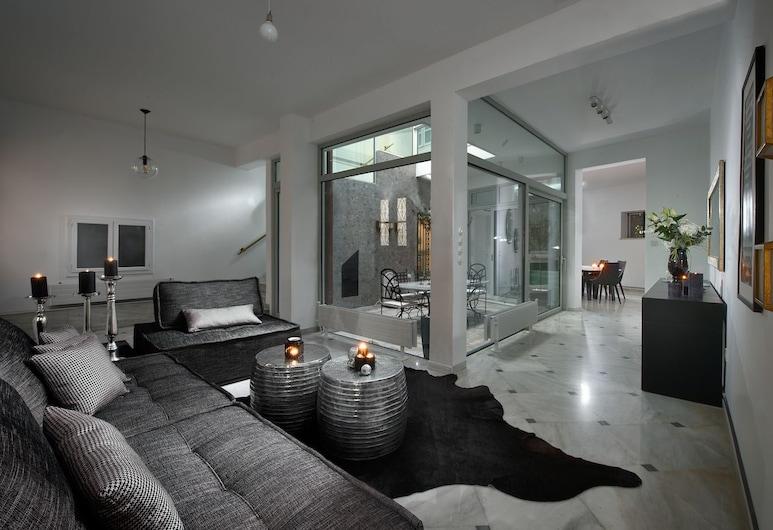 Aldis Plaka Mansion by K&K, Atenas, Vila luxo, Área de estar