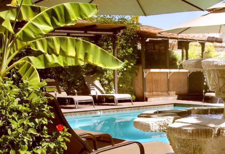 Hotel California, Palm Springs, Vnútorné priestory hotela