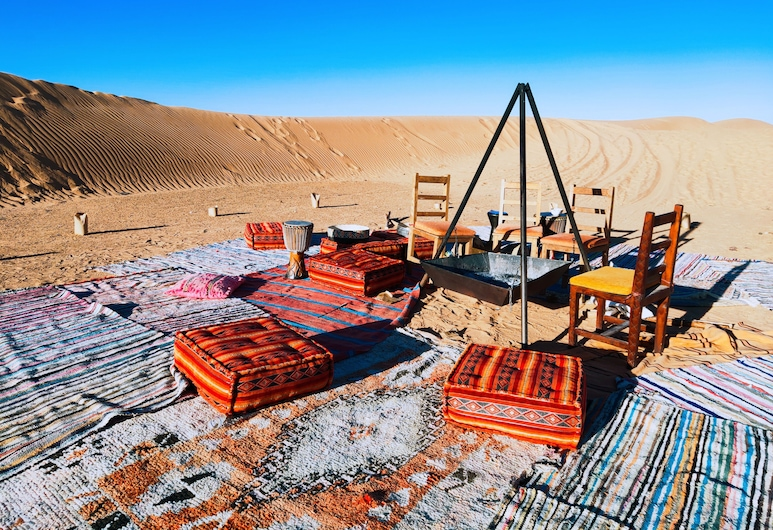 Sahara Royal Camp, Taouz, Sala de estar en el lobby