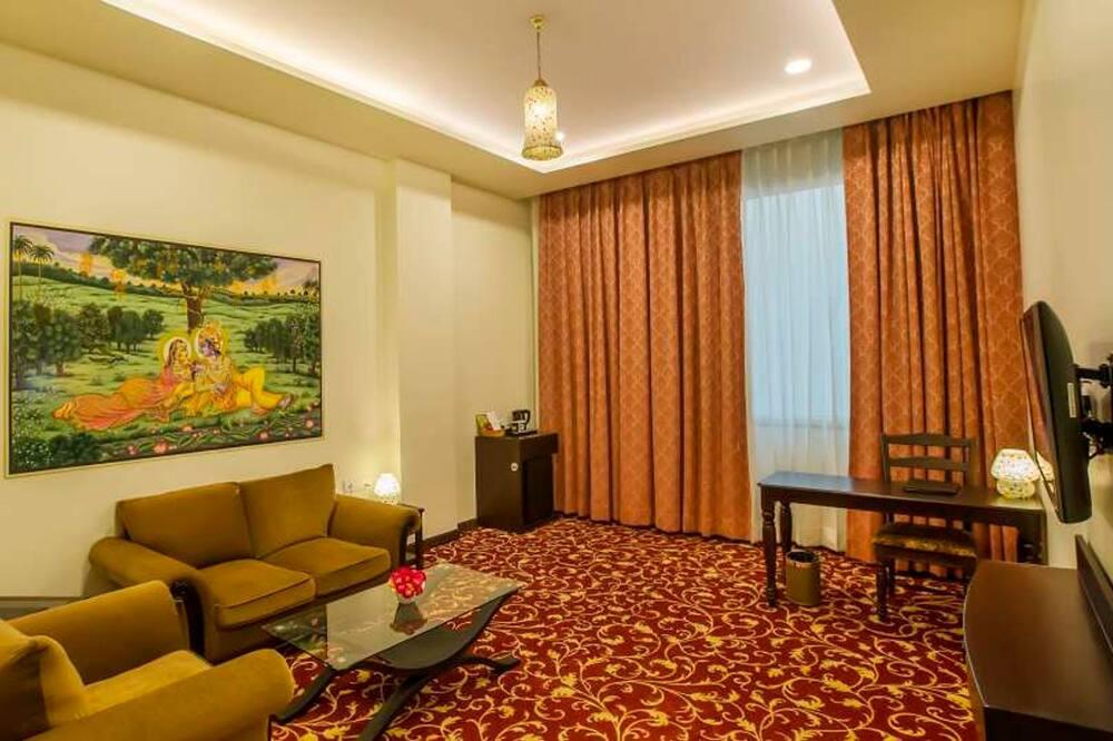 Executive suite, niet-roken - Woonkamer