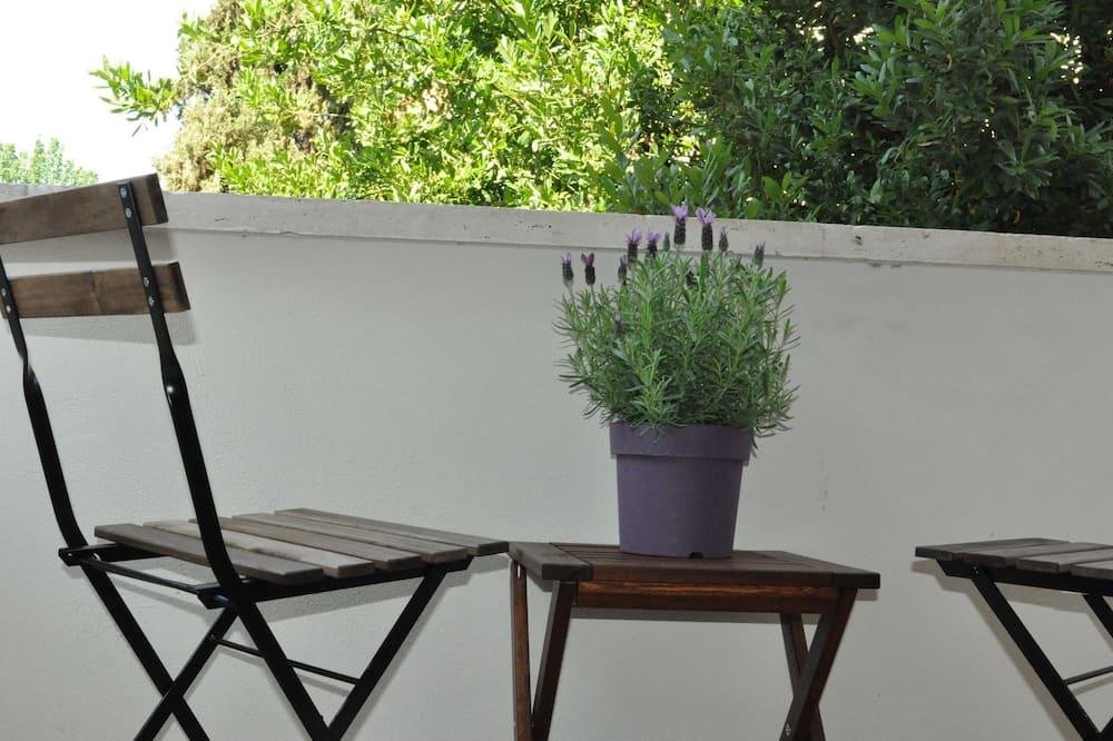 Двухместный номер «Классик» с 1 двуспальной кроватью, 1 двуспальная кровать «Квин-сайз» (Magnolia) - Балкон