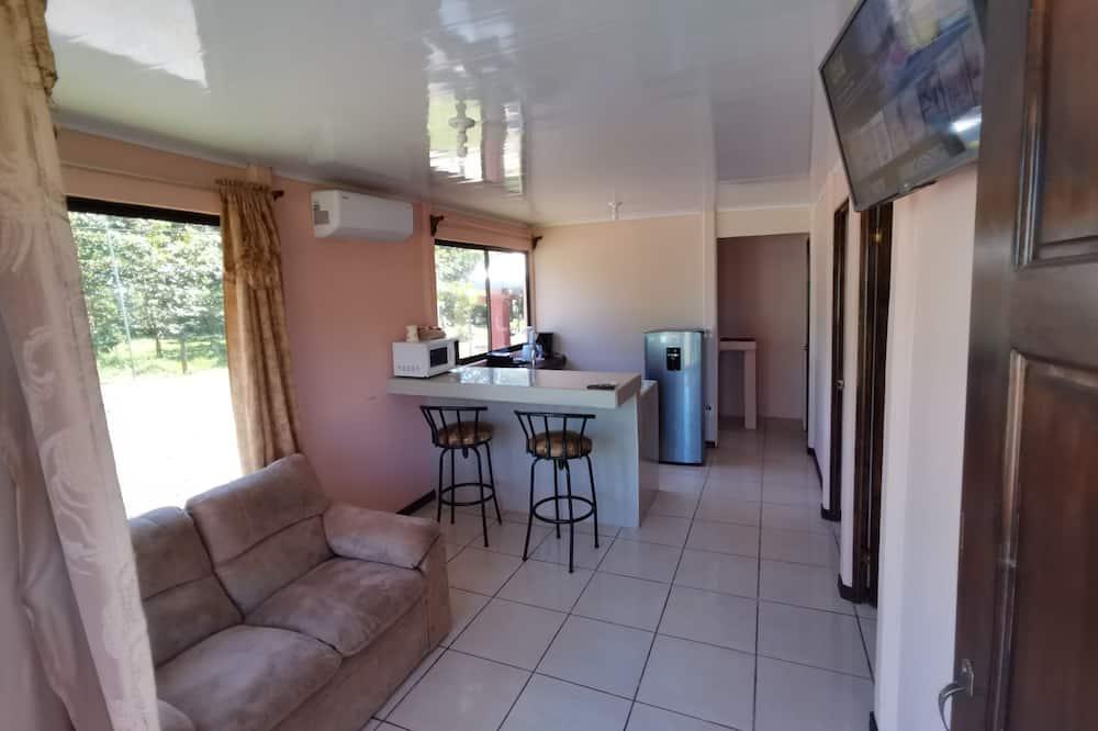 Villa familiar, 2 habitaciones, vista al jardín - Sala de estar