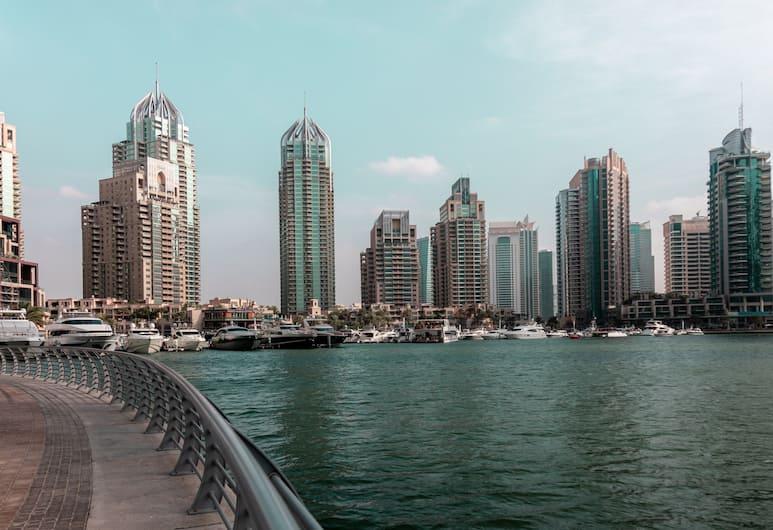 Nasma Luxury Stays - Cayan Tower, Dubajus, Apgyvendinimo įstaigos fasadas