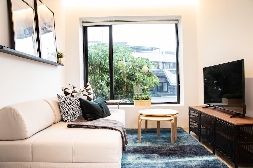 Appartement « Premier », 1 chambre - Salle de séjour