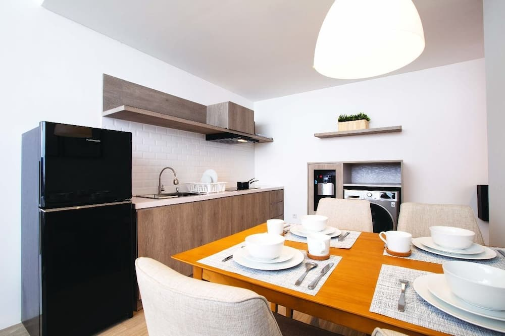 Appartement « Premier », 1 chambre - Restauration dans la chambre