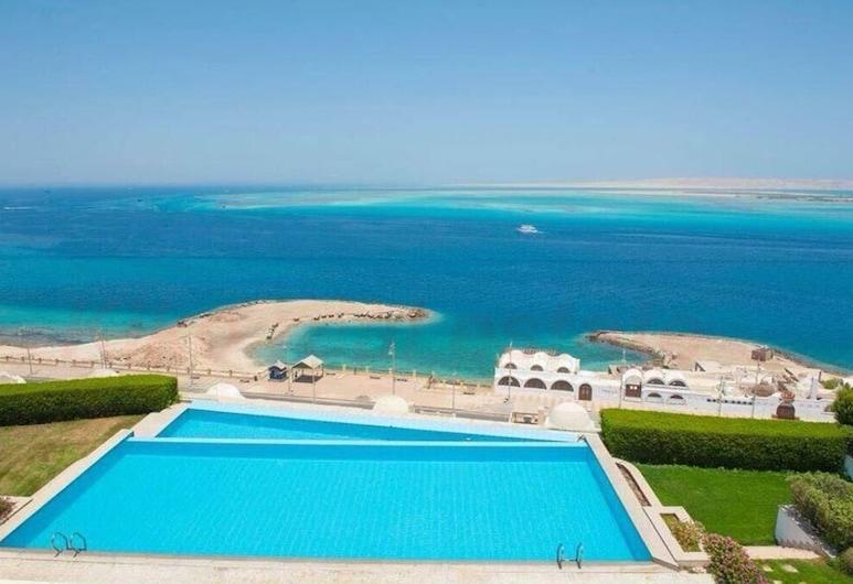 Apartment at View Resort with sea view, Hurghada, Badezimmer