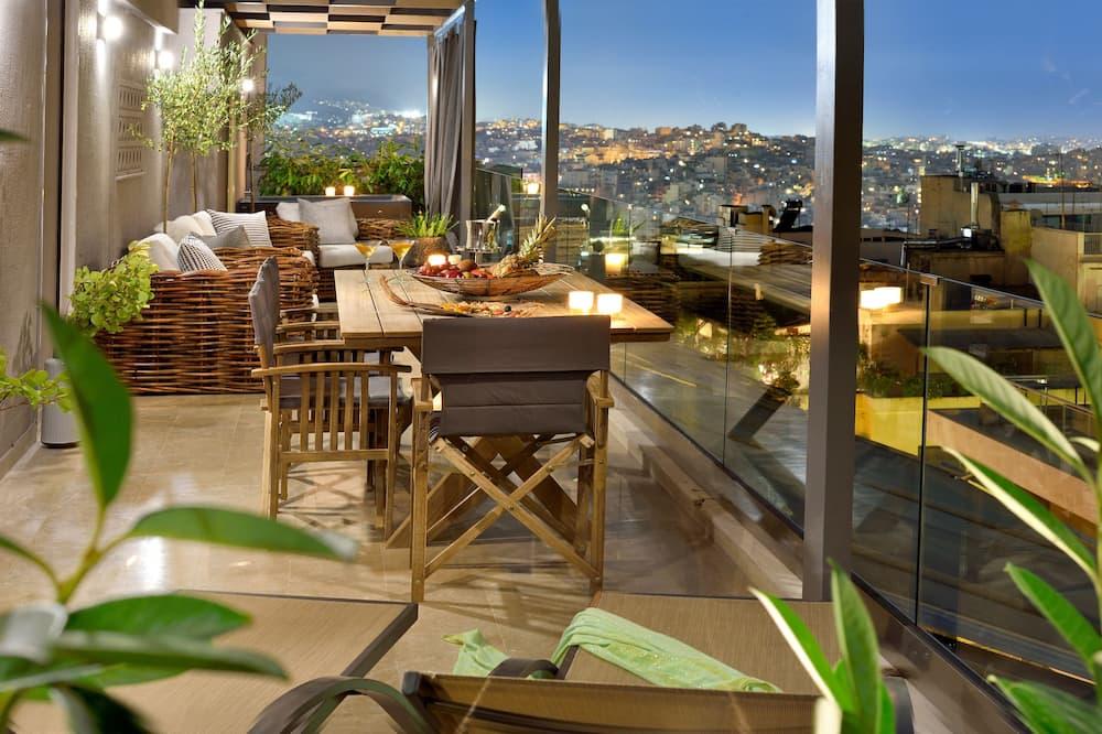 Deluxe apartman - Balkon