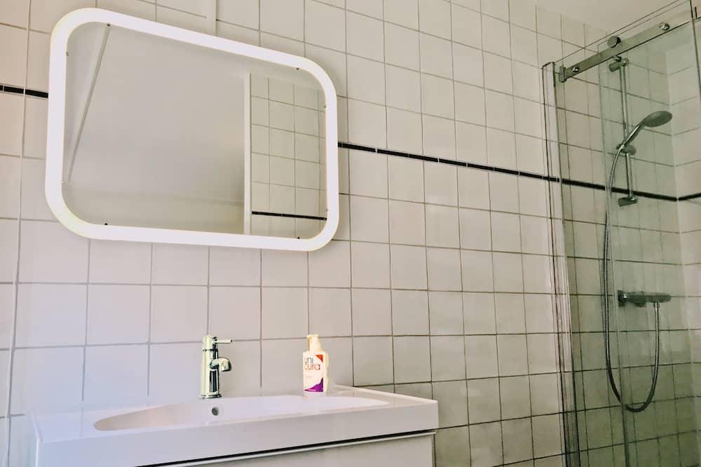 Doppelzimmer, Erdgeschoss (Manhattan Room) - Badezimmer