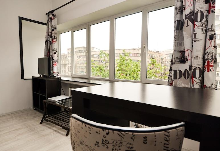 Central Class Bucharest, Bukurešť, Studio typu Superior, výhled na město (No. 1), Pokoj