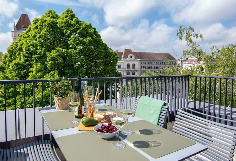維也納美泉宮 EST 住宅酒店, 維也納, 高級公寓, 陽台