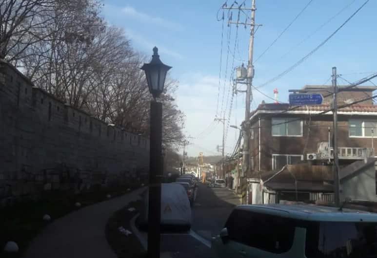 首爾旅館, 首爾, 飯店正面