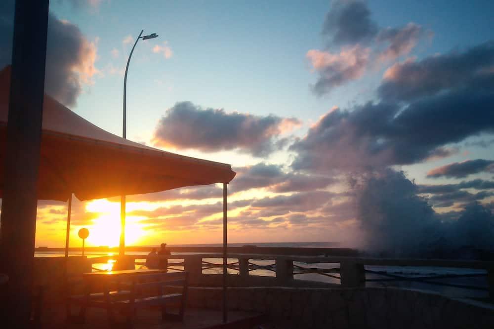 트리플룸, 침대(여러 개), 금연, 부분 바다 전망 - 해변/바다 전망