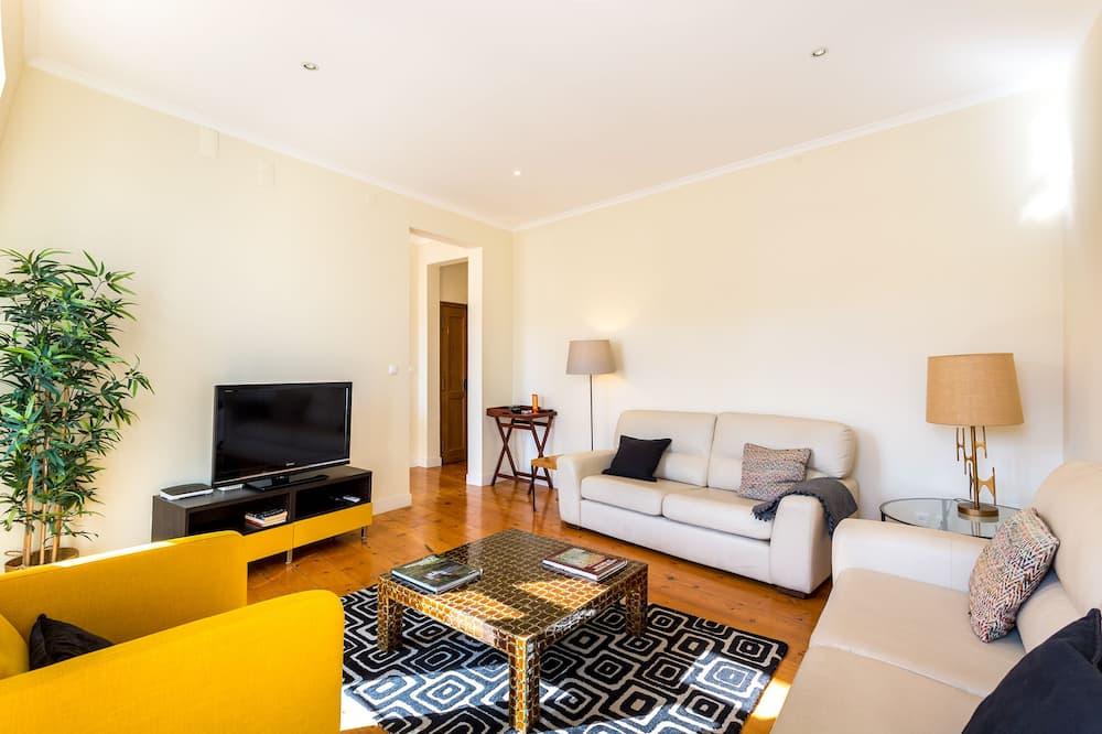 Departamento, 3 habitaciones, 2 baños - Sala de estar