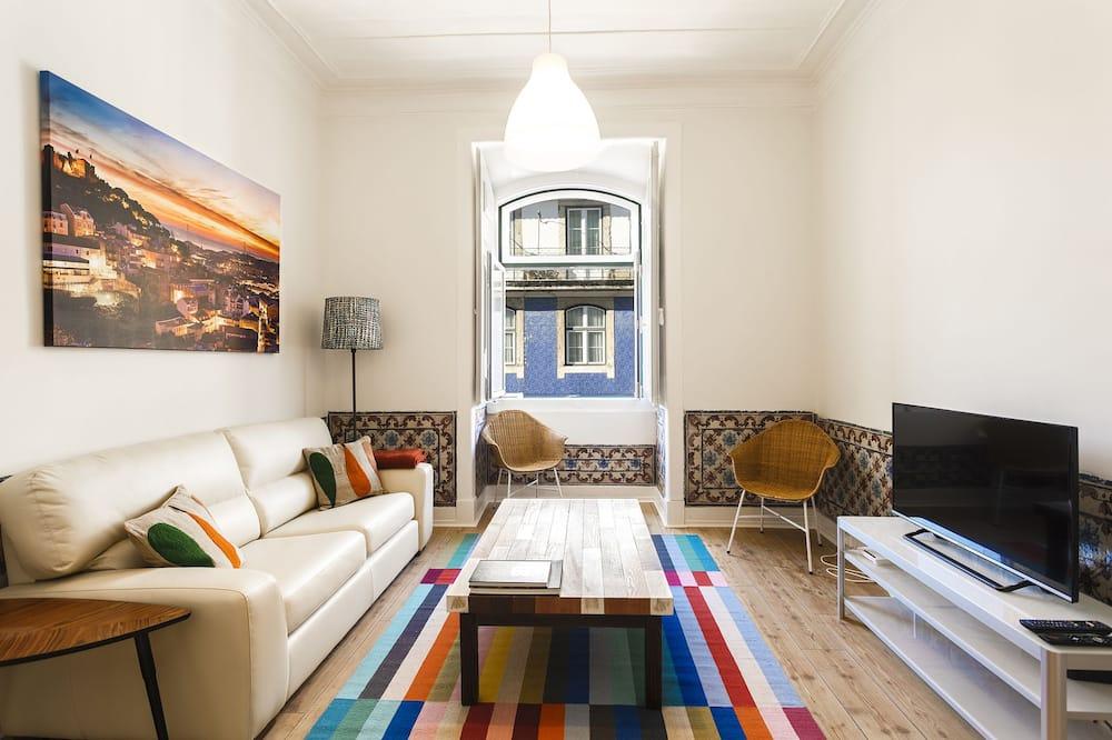 Apartman, 2 spavaće sobe - Dnevni boravak