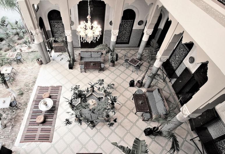 Riad Razane, Fes, Lobby Sitting Area