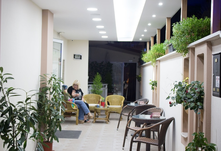 Hotel Villa Pigasos, Katerini, Jardim