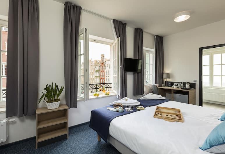 Fama Residence, Gdansk, Deluxe-herbergi fyrir tvo, Herbergi
