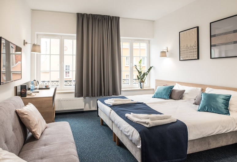 Fama Residence, Gdansk, Izba typu Superior s dvojlôžkom alebo oddelenými lôžkami, Hosťovská izba