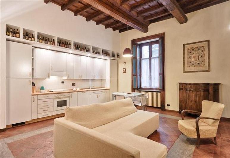 Torino Palazzo Di Città Elegant Apartment, Torino, Appartamento, 1 camera da letto, Area soggiorno