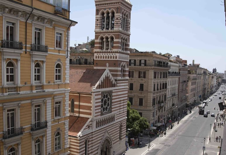 Seven, Roma, Camera Superior con letto matrimoniale o 2 letti singoli, vista città, Camera