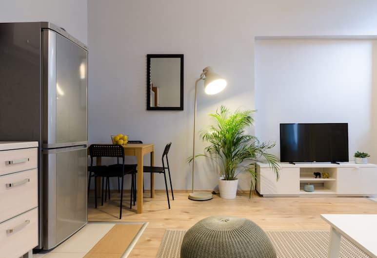 Fennel Apartment, Budapešť, Apartmán, 1 veľké dvojlôžko s rozkladacou sedačkou, nefajčiarska izba, Obývacie priestory