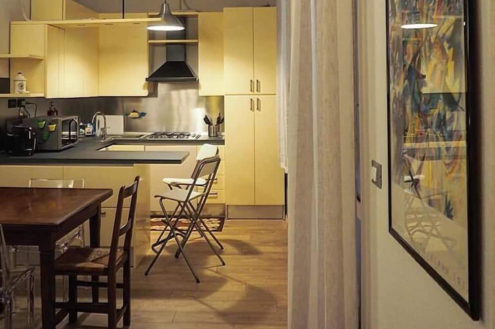 Comfort Apartment, 1 Bedroom, Terrace (Sturla) - Living Area