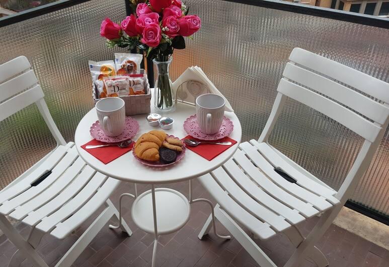 Trastevere Sweet Rest, Rim, Dvokrevetna soba, zajednička kupaonica, Balkon