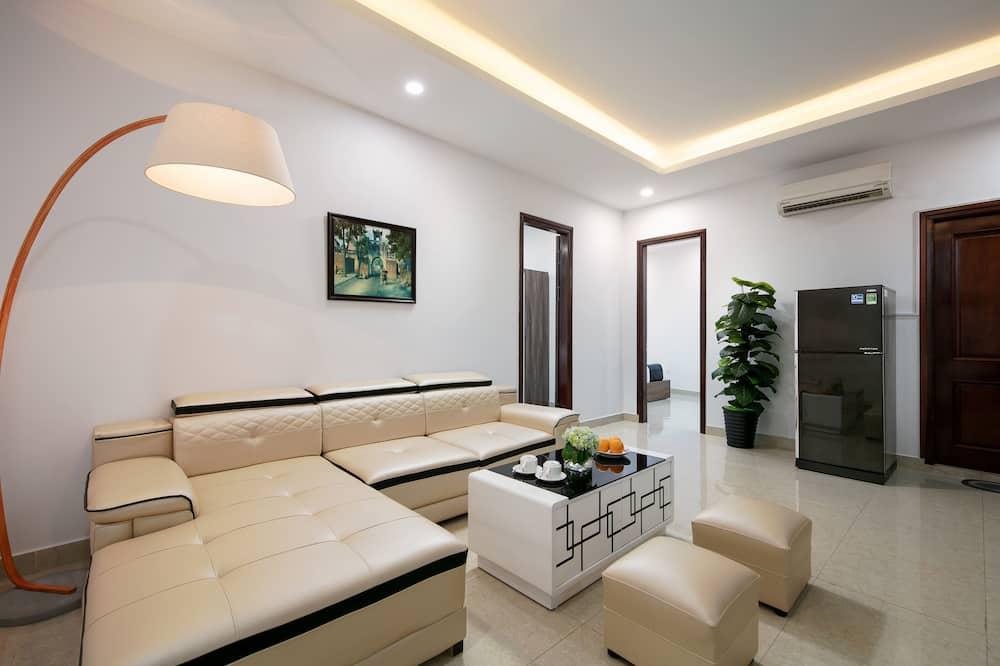 Апартаменты «Делюкс», 2 спальни - Зона гостиной