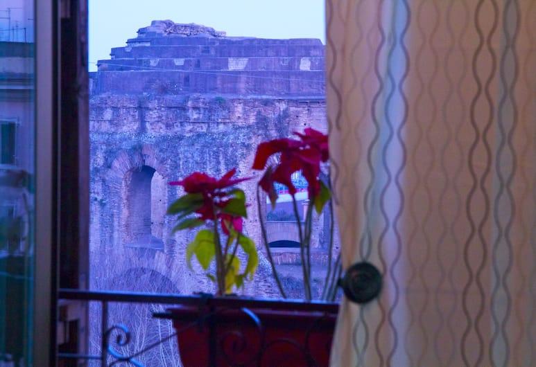 Slow Life B&B, Rome, Superior-dobbeltværelse - privat badeværelse - byudsigt, Udsigt fra værelset