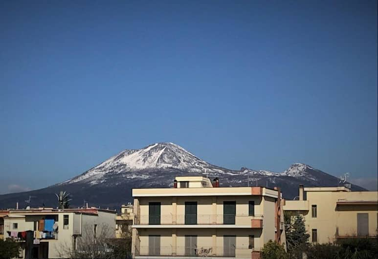 Le Tre Gemme, Pompeia, Vista do hotel