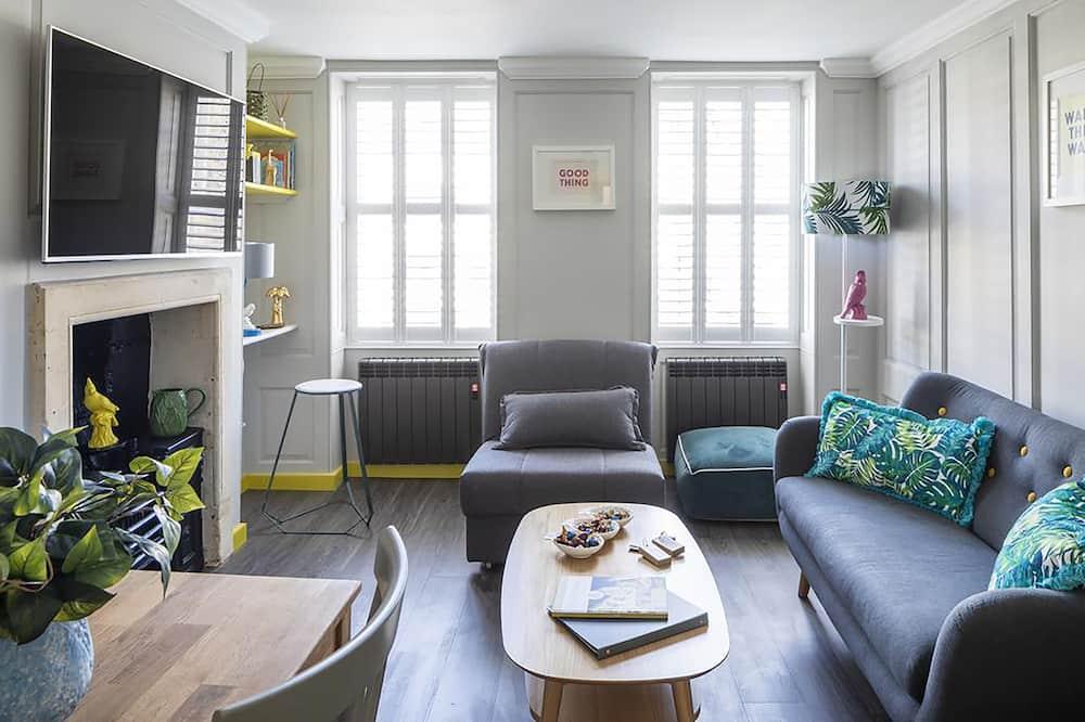 Appartement, plusieurs lits, non-fumeurs - Coin séjour
