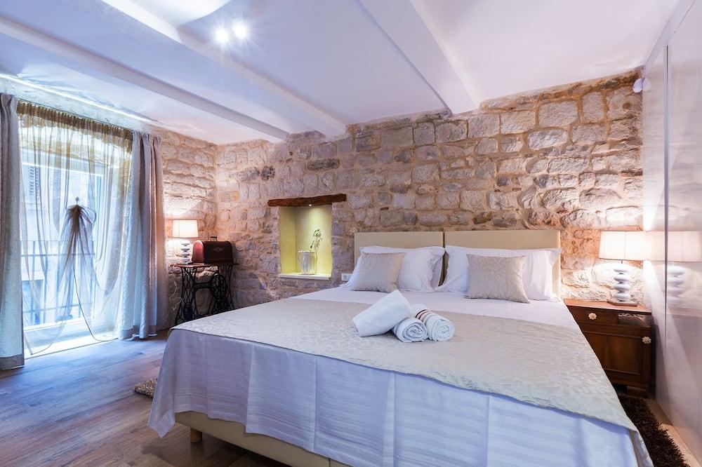 Appartement Deluxe, balcon - Restauration dans la chambre