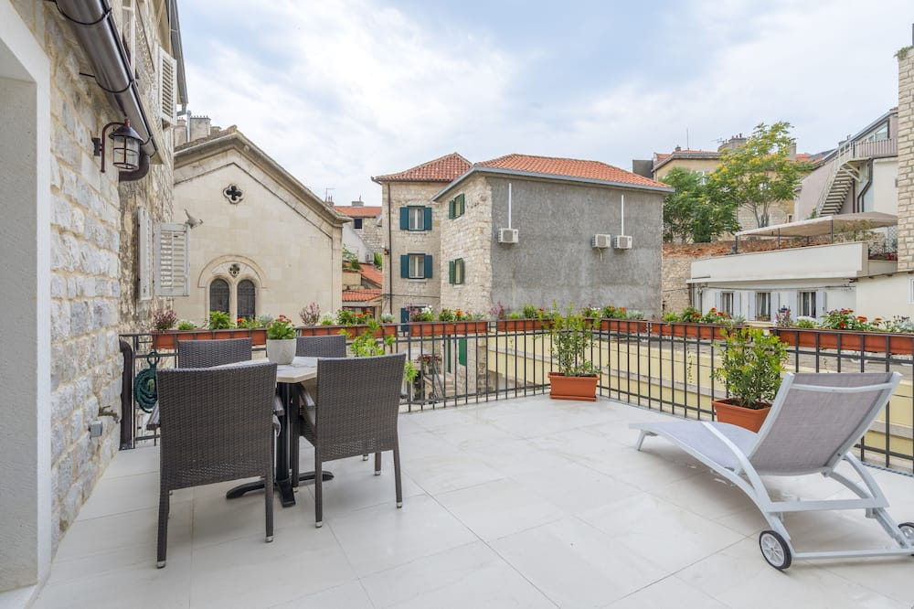 Appartement Deluxe, terrasse - Chambre