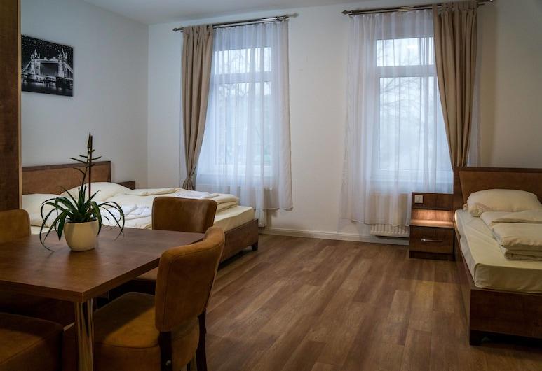 Hotel-Feuerstein, Neuenkirchen, Habitación cuádruple familiar, Varias camas, para no fumadores, Habitación