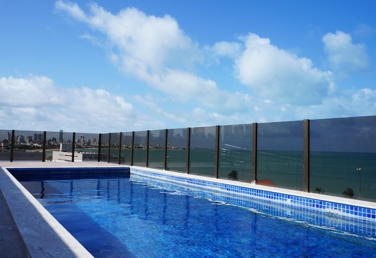 Manaíra, 2 qts , 100 m From the Sea, Panoramic View, Great Location, new, João Pessoa