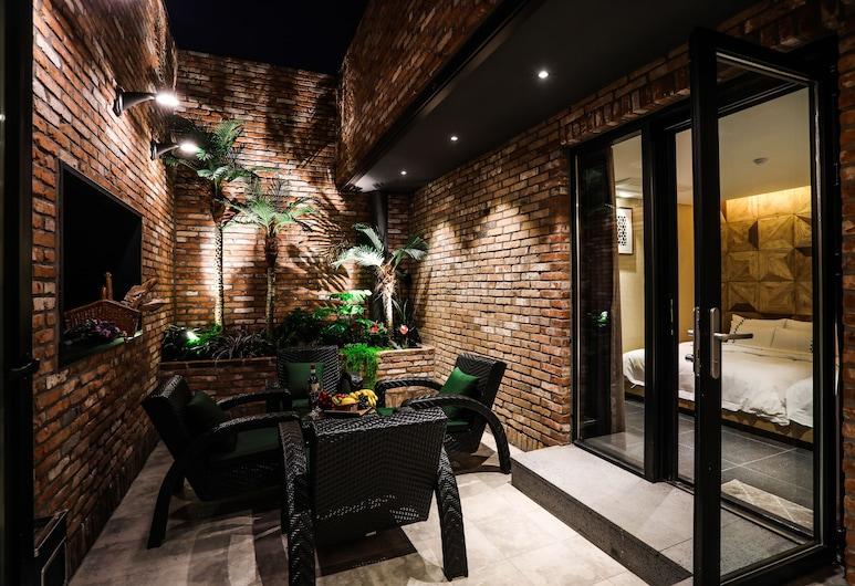 航廈商店全州馬里酒店, 全州, 套房, 露台, 花園 (Terrace Garden Suite), 陽台