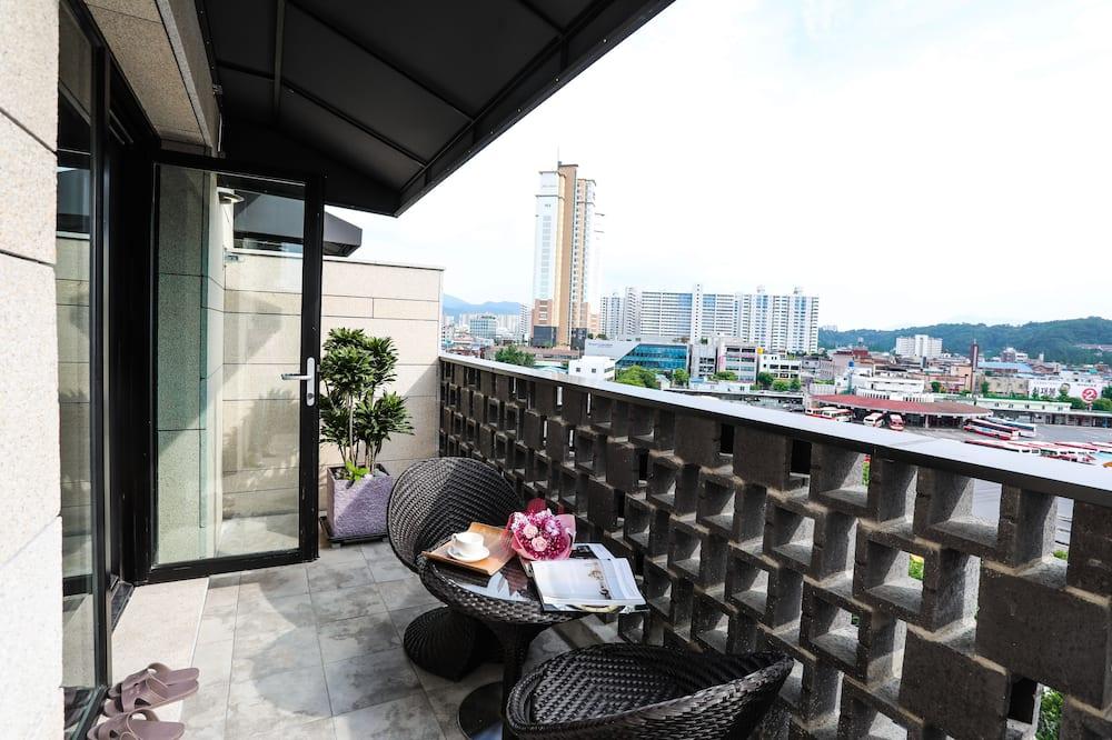 Luxury Terrace Double Room - Balcony
