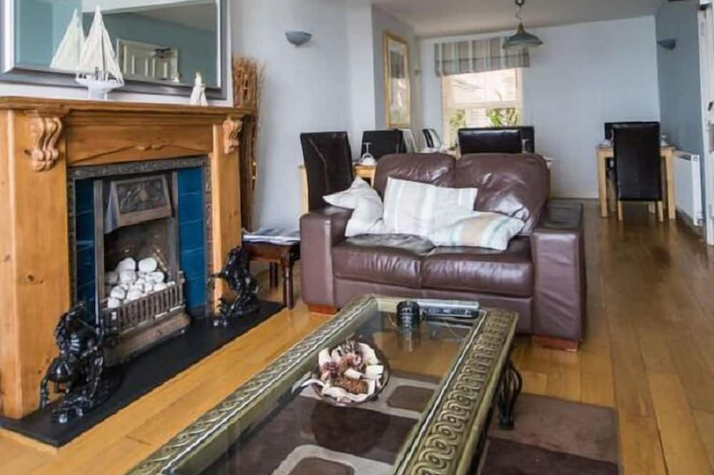 Pokoj Deluxe se dvěma jednolůžky, 2 jednolůžka - Obývací prostor