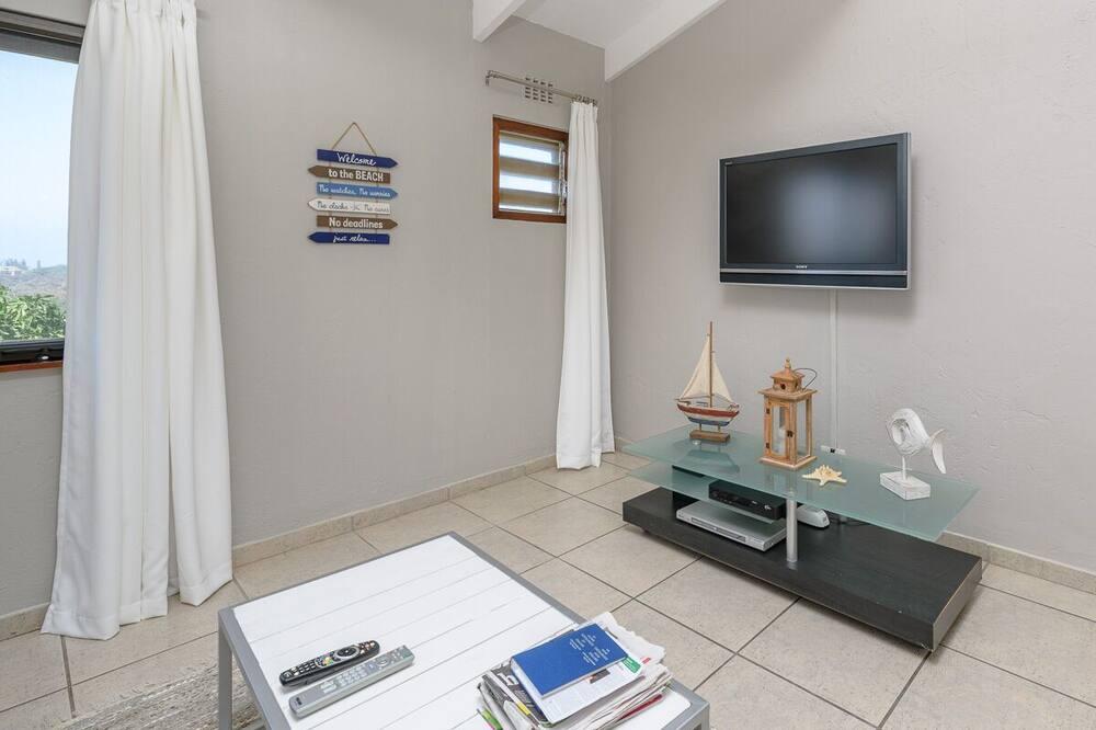 Vila Comfort, 1 Tempat Tidur Queen, non-smoking, pemandangan laut - Area Keluarga