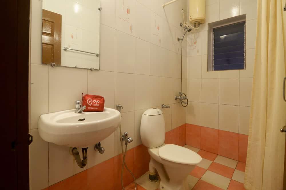 Deluxe kamer, 1 twee- of 2 eenpersoonsbedden, 1 kingsize bed - Badkamer