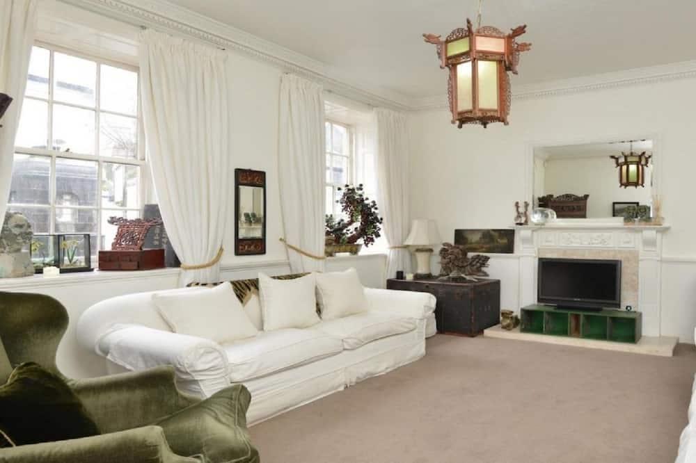 Golden Lion House-Historic Townhouse - Living Area