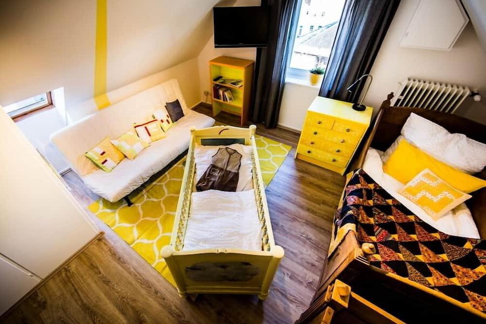 Comfort - kahden hengen huone, Näköala puutarhaan (gelbe Zimmer) - Vierashuone