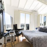 Deluxe apartman, 1 spavaća soba, balkon - Dnevni boravak