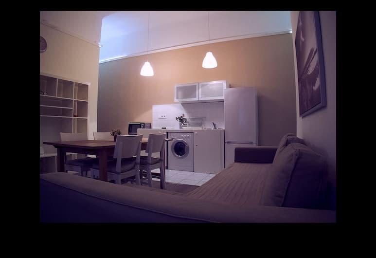 Hunyadi-Andrassy Apartment, Budapeszt, Apartament rodzinny, Powierzchnia mieszkalna