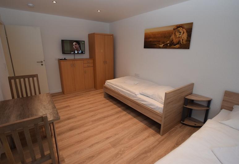 AB Apartment 109, Ludwigsburg, Apartmán, 2 spálne, spoločná kúpeľňa (incl. cleaning fee EUR 50 per stay), Izba