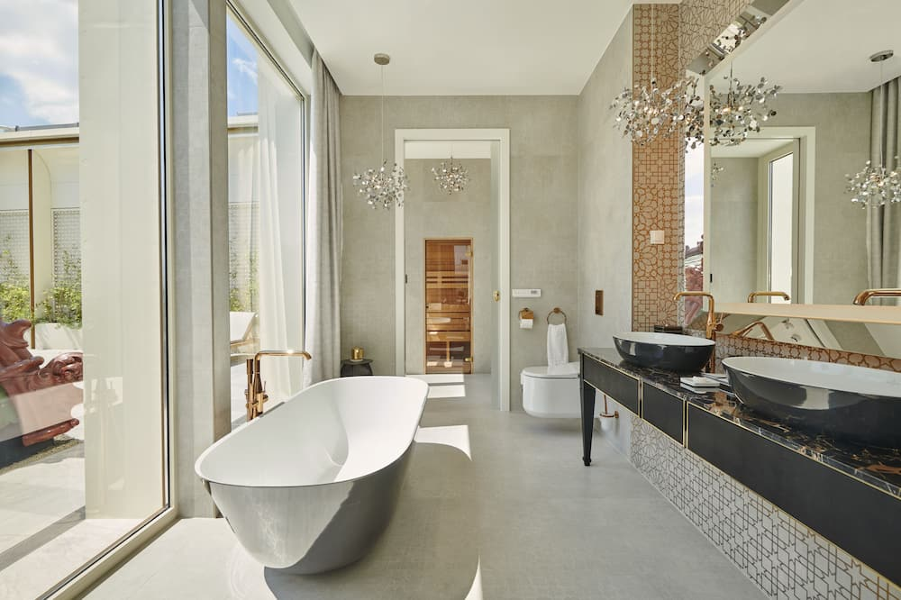 Pokoj (Budapest Residence) - Koupelna