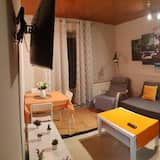 Huoneisto, 2 makuuhuonetta (Semi) - Olohuone