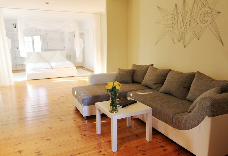 B&B EMG, Emsdetten, Appartement, 3 slaapkamers, Woonruimte
