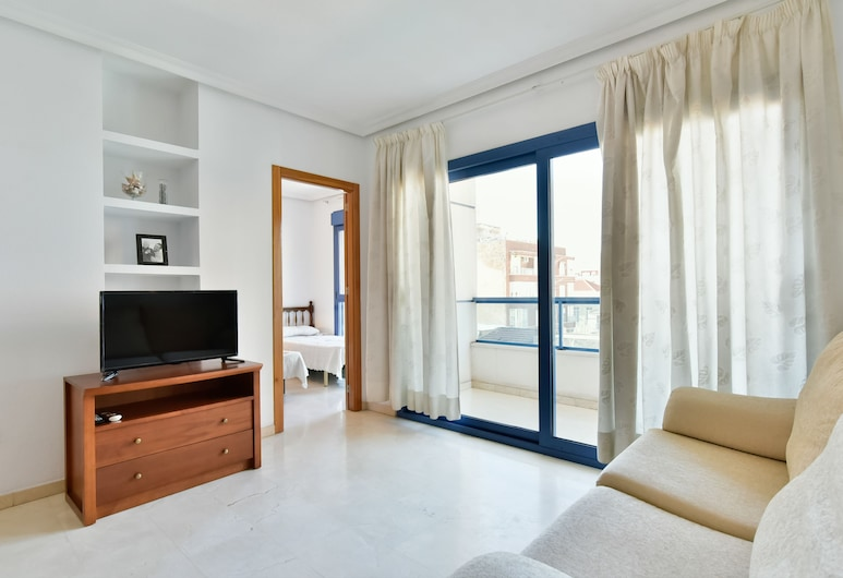 Gala Centro Castilla, Torrevieja, Apartment, 2 Bedrooms, Terrace, City View, Living Room
